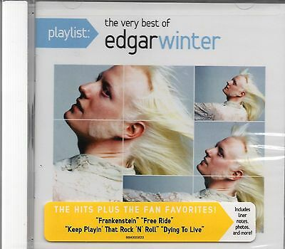 Edgar Winter - The Very Best Of Edgar Winter (2014 CD) New & Sealed
