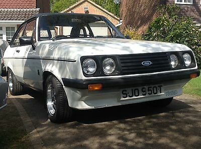 1979 MK2 Ford Escort 2.0 RS2000 Custom Classic Ford, Old Ford