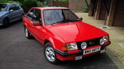 1982 Ford Escort XR3, Old Ford Classic Ford