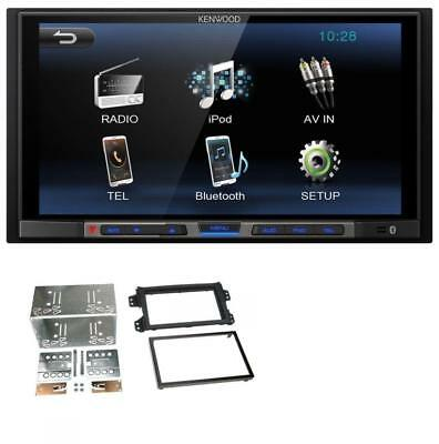 kenwood mp3 usb 2din bluetooth aux autoradio f r fiat 500. Black Bedroom Furniture Sets. Home Design Ideas