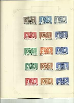 British Commonwealth - Coronation Of King George Vi 1937 - Superb Mh Collection