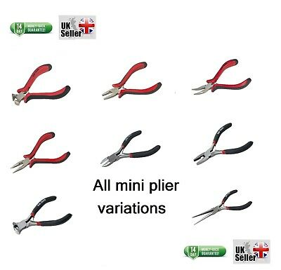Mini Pliers Long nose combination end cutter side cutter top cutter extra long