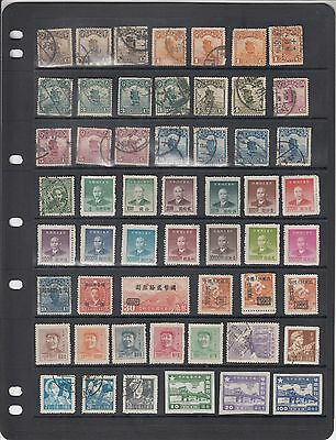 China, 280 Early to Modern Mint and Used Stamps inc Shades & Postmarks