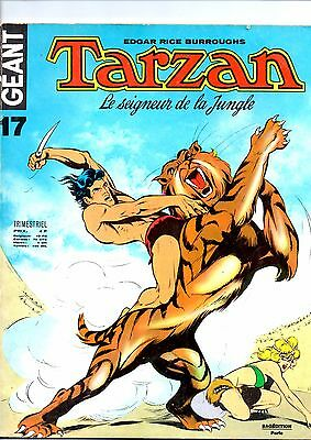 TARZAN  GEANT  N° 17  en  ABE  Edition SAGEDITION