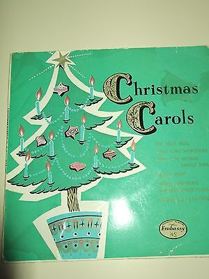 "7"" Embassy CHRISTMAS CAROLS  by St Marks Church North Audley St W1"