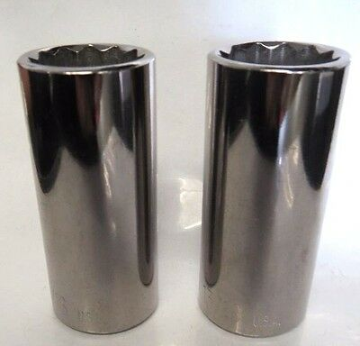 "KD Tools 523226 13/16"" 12 Point Deep Socket 3/8"" Drive USA 2 Pieces"