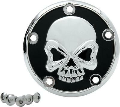 DS Skull Points Cover Harley FXCW Softail Rocker 2008-2009