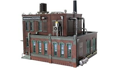 Woodland Scenics [WOO] O Built Up Morrison Door Factory BR5848 WOOBR5848