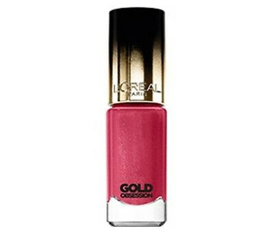 Loreal Color Riche Gold Obsession Nail Polish Varnish Rose Gold