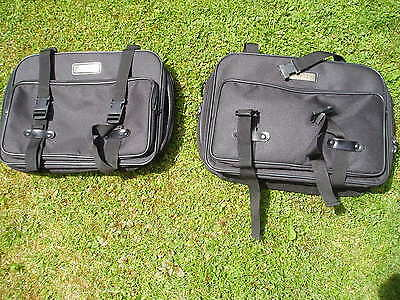 Moto Fizz motorcycle pannier bag set