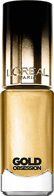 Loreal Color Riche Gold Obsession Nail Polish Varnish Pure Gold