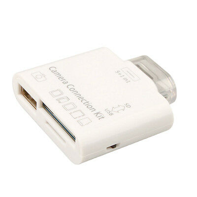 5in1USB Interface M2 TF SD Card Reader Camera Connection Kit for Apple IPad2/ RS