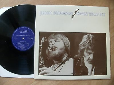 "John Surman/stan Tracey:""sonatinas"".1978 Steam.near Mint+Fully Laminated Cover!"