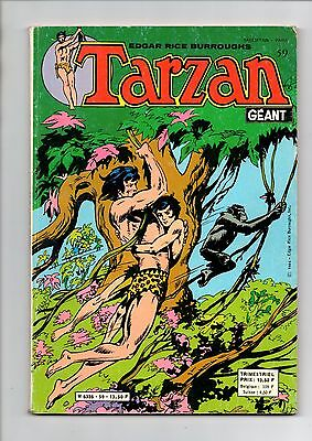 TARZAN  GEANT  N° 59  en  TBE  Edition SAGEDITION