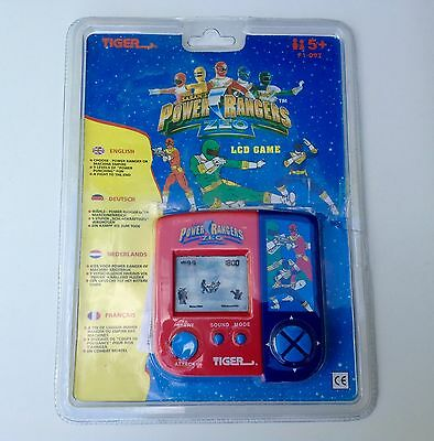 Power Rangers LCD Game-Tiger Electronics in Blister Packet.1995