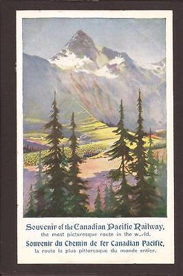 Canadian Pacific Railway Poster Type Advertising.