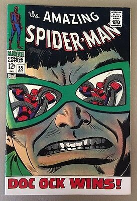 The Amazing Spider-Man #55 Marvel Comics 1967 FN+
