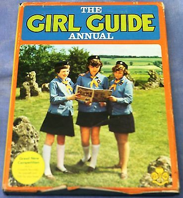 The Girl Guide Annual 1973 Hardback Dust-Jacket