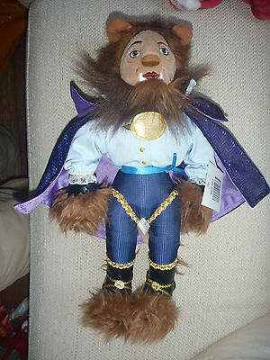 Disney Beauty And The Beast The Broadway Musical Beast Soft Plush