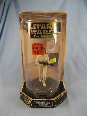 Star Wars Epic Force Princess Leia Action Figure In OB Kenner 1998 Box Wear (O)