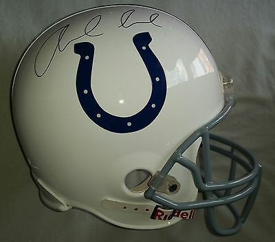 Andrew Luck Autograph Indianapolis Colts Qb Hand Signed Nfl Fs Helmet -See Proof