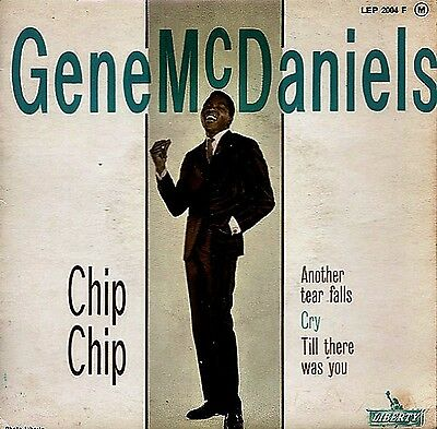 """GENE McDANIELS: """"Chip Chip"""" (very rare orig. French 60´s EP)"""