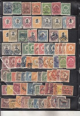 oldhal-Haiti-Large Lot of Mint/Used Stamps from 1902-1918