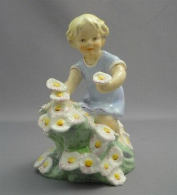 """MAY"" F. DOUGHTY Vintage Paragon England Bone China Figurine Figure Doll 3455"