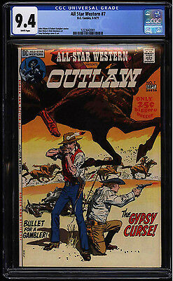 All Star Western #7 CGC 9.4 White Pages