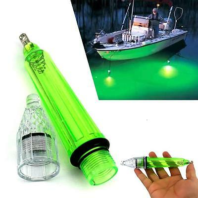 1pc Underwater Fishing LED Lamp Waterproof Flash Fish Fishing Light Fish Tool KR