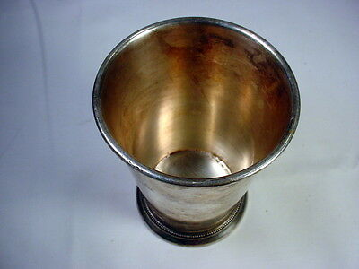 Vintage Patrick Henry Silver Plated Mint Julep Cup Rare / Made In Italy