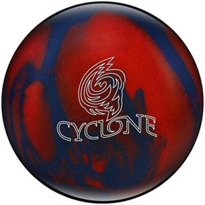 Ebonite Bowling Ball Reactive Cyclone Red/Blue
