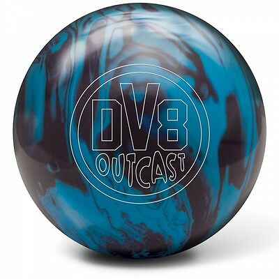 DV8 Outcast Blue Bruiser Reactive Bowling ball