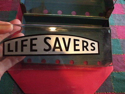 Vintage Life Saver Candy Counter Display No Issues !!