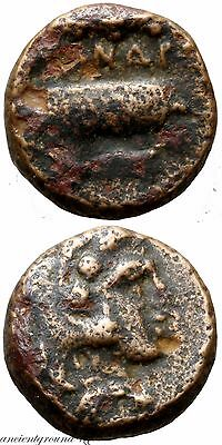 Ancient Greek Coin Ae 11 Alexander The Great 323 Bc , Uncertain Mint
