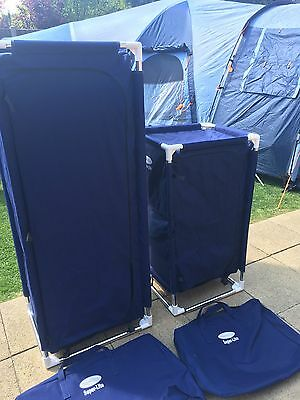Camping Wardrobe & Storage Unit Foldable Carry Bag SUNNFLAIR SUPER-LITE