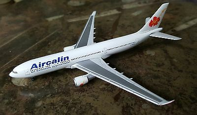 Maquette 1/500 Airbus A330-200 Aircalin Herpa Sold Out  Model In Genuine Box