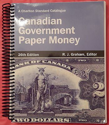 Used 2014 Charlton Canadian Paper Money Catalogue 26th Edition