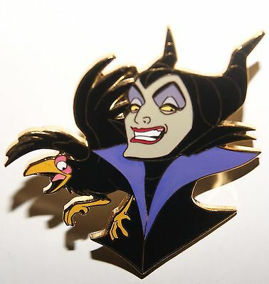 DISNEY LE 300 DCL Maleficent & Diablo  Mickey's Nightmare Villainous Voyage Pin