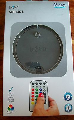 New Biorb Mcr Led L Multi Colored Remote Control Intelligent Light Life Flow