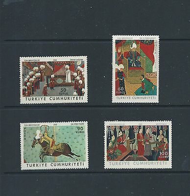 Turkey 1968 Turkish Book Miniatures set of 4 unmounted mint MNH