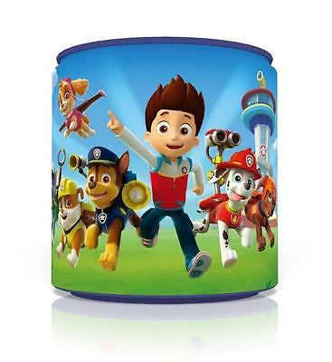 "PAW PATROL  LIGHT CEILING LAMP SHADE 8"" blue KIDS ROOM BOYS FREE P&P"