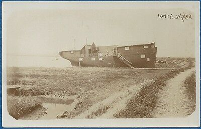 "RP Postcard - The Houseboat ""Ionia"" Aldeburgh, Suffolk 1908"