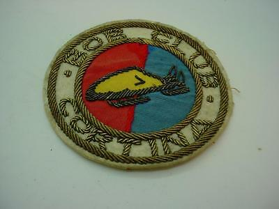 "Vintage ""Cortina Bobsled Club"" Sew on Patch Badge Vintage Bobsleigh"