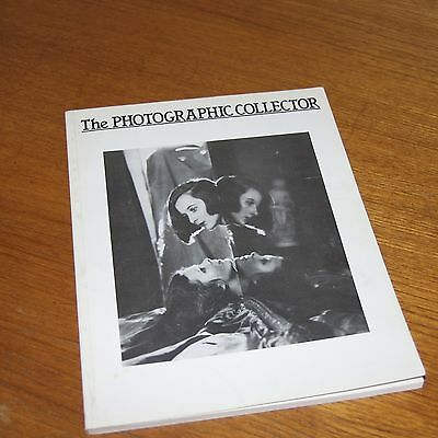 The PHOTOGRAPHIC COLLECTOR  3/2 magazine 1982 early images and vintage cameras