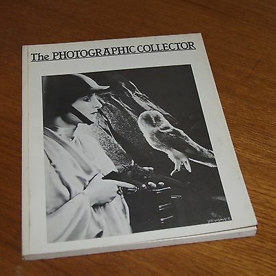 The PHOTOGRAPHIC COLLECTOR  4/2 magazine 1983 early images and vintage cameras