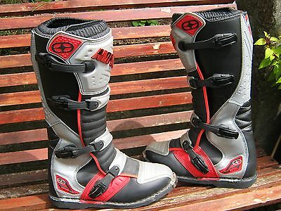 NO FEAR Motocross Boots Size 11 UK 46 EU