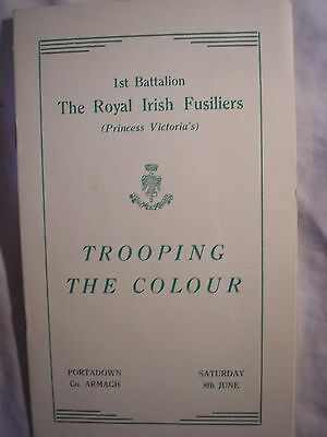 Royal Irish Fusiliers Portadown Armagh Ireland British Regiment History 1963
