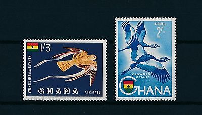 [L1405] Ghana 1959 : Birds - Good Set of Very Fine MNH Airmail Stamps