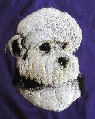 Embroidered Fleece Jacket - Dandie Dinmont Terrier BT3513  Sizes S - XXL